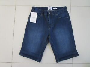 Riders Men's R3 Relaxed Fit Bronx Blue Straight Leg Stretch Shorts Size: 30