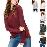 Only Damen Strickpullover Feinstrick Basic Pullover Pulli Langarmshirt Shirt %