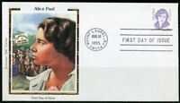 UNITED STATES COLORANO  1995  ALICE PAUL  FIRST DAY COVER