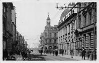 POSTCARD  YORKSHIRE -  DONCASTER - HIGH STREET - CIRCA 1924- RP