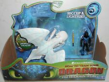 New HTF DreamWorks Spin Master The Hidden World HICCUP & LIGHTFURY Painted Wings