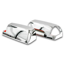 For 2009-2010 Dodge Ram 3500 Chrome Towing Mirror With Signal Light Cut Out Trim