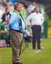 "~ Sigi Schmid Authentic Hand-Signed ""La Los Angeles Galaxy Coach"" 8x10 Photo ~"