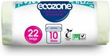 Ecozone Compostable Caddy Liners - 22 Bags