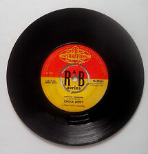"""Chuck Berry Memphis Tennessee / Let it Rock  7"""" Vinyl Recording First 1963"""