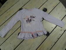 T-shirt manches longues parme imprimé fleurs CHARLIE & PRUNE Taille 4 ans