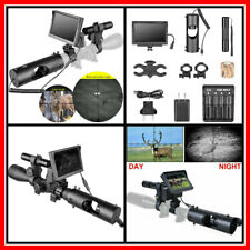 Hunting Night Vision Monitor for Rifle Scope Camera Infrared 200 meters Outdoor