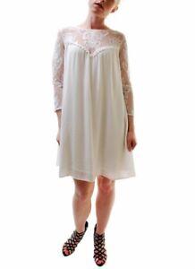 For Love & Lemons Womens Bonita Midi Dress White S