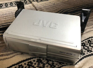 JVC CH-X1500 Compact Disc Changer 12 Disc MP3 CD-RW Playback Untested