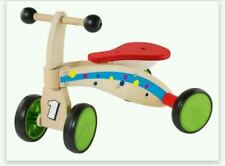 Rutschrad  Dreirad, Rutschfahrzeug aus Holz, Playtive, NEU +