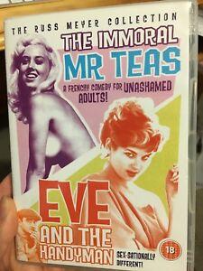 Russ Meyer - The Immoral Mr Teas / Eve And The Handyman DVD *** RARE ***