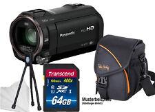 PANASONIC HC-V777EG-K 64GB KOMPLETTSET ! CAMCORDER V777 ****