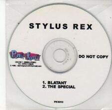 (BY737) Stylus Rex, Blatant / The Special - DJ CD