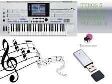 Archivo MIDI Karaoke Usb Stick Para Tyros 5 Nuevo Volumen 2