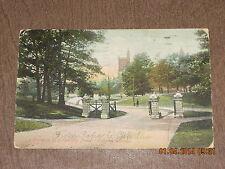 Vintage Postcard Entrance to University Park Toronto Canada 1906 A. 730. 13.