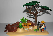 Playmobil Tiere Tierfotograf in der Savanne   Zoo Tierpark Zirkus