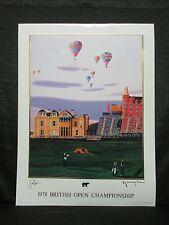 Jack Nicklaus 1978 British Open Masters Championship St Andrews Yamagata Litho