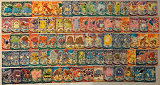 Pokemon Cards - Lot Of 84 Topps Series 1 & 2 Pokemon Cards - USED