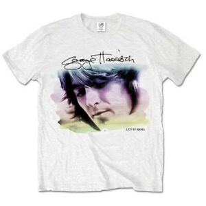 George Harrison The Beatles Pastels Official Tee T-Shirt Mens Unisex
