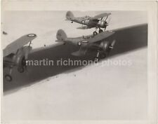 Gloster Gladiator Formation over Suez Canal Large Press Photo, AY514