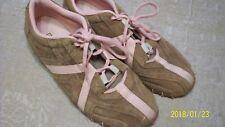 Diesel ladies shoes size 8.5 pink brown suede great shape item