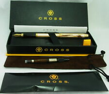 SALE! Cross Century II 14k Fountain Pen Med #1509-M USA Excellent - Inscribed