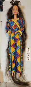 1995 Jewel Hair Mermaid Teresa  Long Hair Ooak outfit