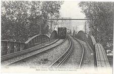 PARIS (75)chemin de fer métropolitain ligne 5 Italie Lancry viaduc Austerlitz