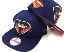 Superman DC Comics Justice League Snapback New Era 9Fifty Flat Bill Brim Hat Cap