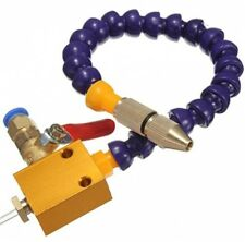 Mist Coolant Lubrication Spray System For 8mm Air Pipe CNC Lathe Milling Drill