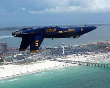 BLUE ANGELS JET NO. 5 INVERTED FLIGHT 11x14 SILVER HALIDE PHOTO PRINT