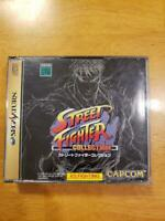 Street Fighter Collection (Sega Saturn, 1997) japan include manual SS Japan