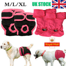 More details for pet dog physiological pants diaper panties underwear for female dogs reusable uk