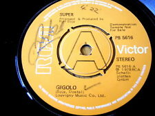 "SUPER - GIGOLO  7"" VINYL DEMO"