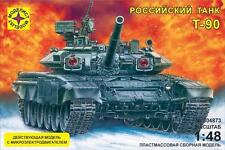 MODELIST 304873 RUSSIAN MAIN BATTLE TANK T-90 WORKING MODEL KIT 1/48 NEW