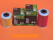FILTRI OLIO KTM 690 LC4 DUKE - ENDURO R 2008 2009 2010 HIFLO HF 155-157