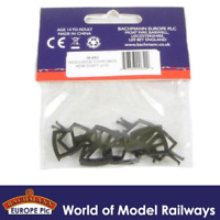 Bachmann 36-053 Wide/Large Couplings NEM Shaft x10 OO Gauge