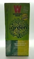 Wissotzky Tea Green Lemongrass & Peppermint Including EGCG Kosher Tea 25 Pcs