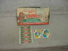 1951 Topps Baseball Cards Empty Display Box 1 Cent  with Wrapper and 2 Cards