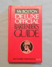 Mr. Boston Deluxe Official Bartender's Guide 1979