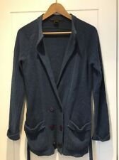Marc Jacobs Blue Cashmere Cardigan M Medium