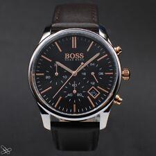 Hugo Boss 1513448 Herrenuhr Chronograph Farbe: Braun Rotgold