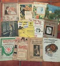 Collectible Sheet Music for sale | eBay