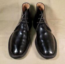 Vintage Military Chukka boots Dupont Corfam size 10.5 - 11 Narrow to Xnarrow