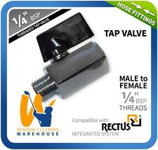 "1/4"" BSP Male to Female Tap Valve Series 21 Coupling - Microbore Window Cleaning"
