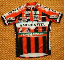 Amore&Vita Forzacore, vintage cycling jersey by Nalini, Mens XL - L, 5