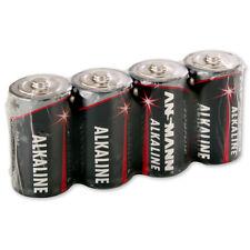4x ANSMANN Alkaline Batterie Baby C 1,5V, LR14, 5015571