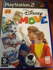 DISNEY - MOVE - PLAYSTATION 2 PS2 USATO