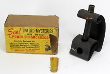 """VINTAGE """" UNTOLD MYSTERIES """" TOY 5- POWER MICROSCOPE"""