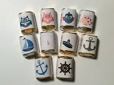 NAUTICAL THEME SAILOR BABY SHOWER BIRTHDAY CANDY WRAPPERS HERSHEY NUGGET LABELS